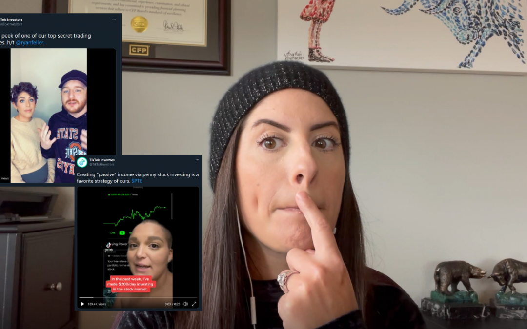 Financial Planner Reacts To TikTok Stock Traders