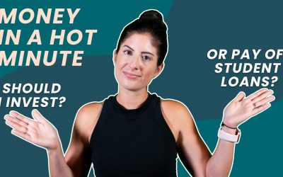 Should You Pay Off Student Loans Or Invest? (Money In A Hot Minute #09)