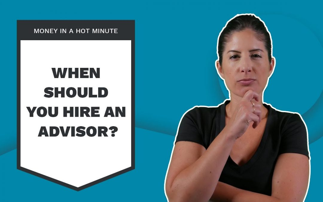 Should You Hire An Investment Advisor? (Money In A Hot Minute #10)